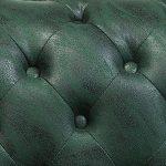 tapizado capitone chester verde