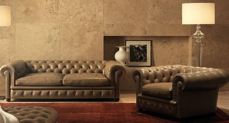 sofa chester polipiel barato