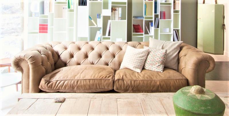 sofa chester tela